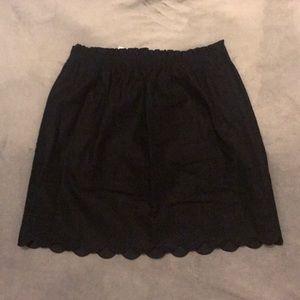 Black J. Crew Skirt